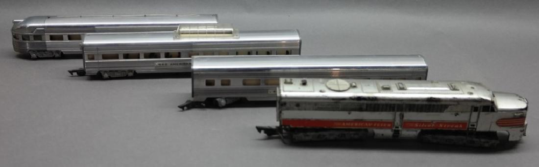 American Flyer Silver Streak, 661, 662 & 663 Train