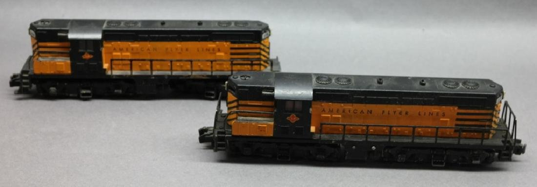 American Flyer Lines T&P 377 & 378 Train Engines