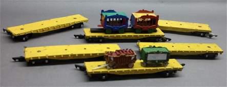 American Flyer Circus Train Set Parts/Animals, Car