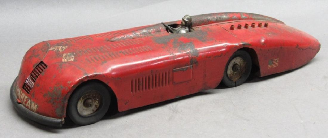 Kingsbury Sunbeam Racer Car- Original windup