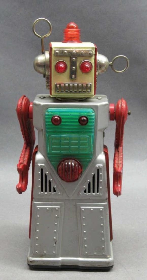 Yoshiya Chief Robot Man 1959 Silver Version