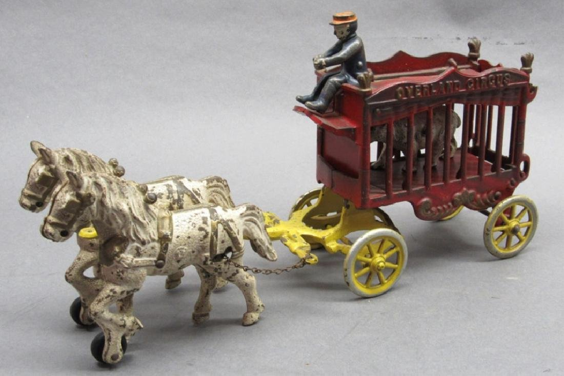 Cast Iron Overland Circus Wagon- Kenton 1930s