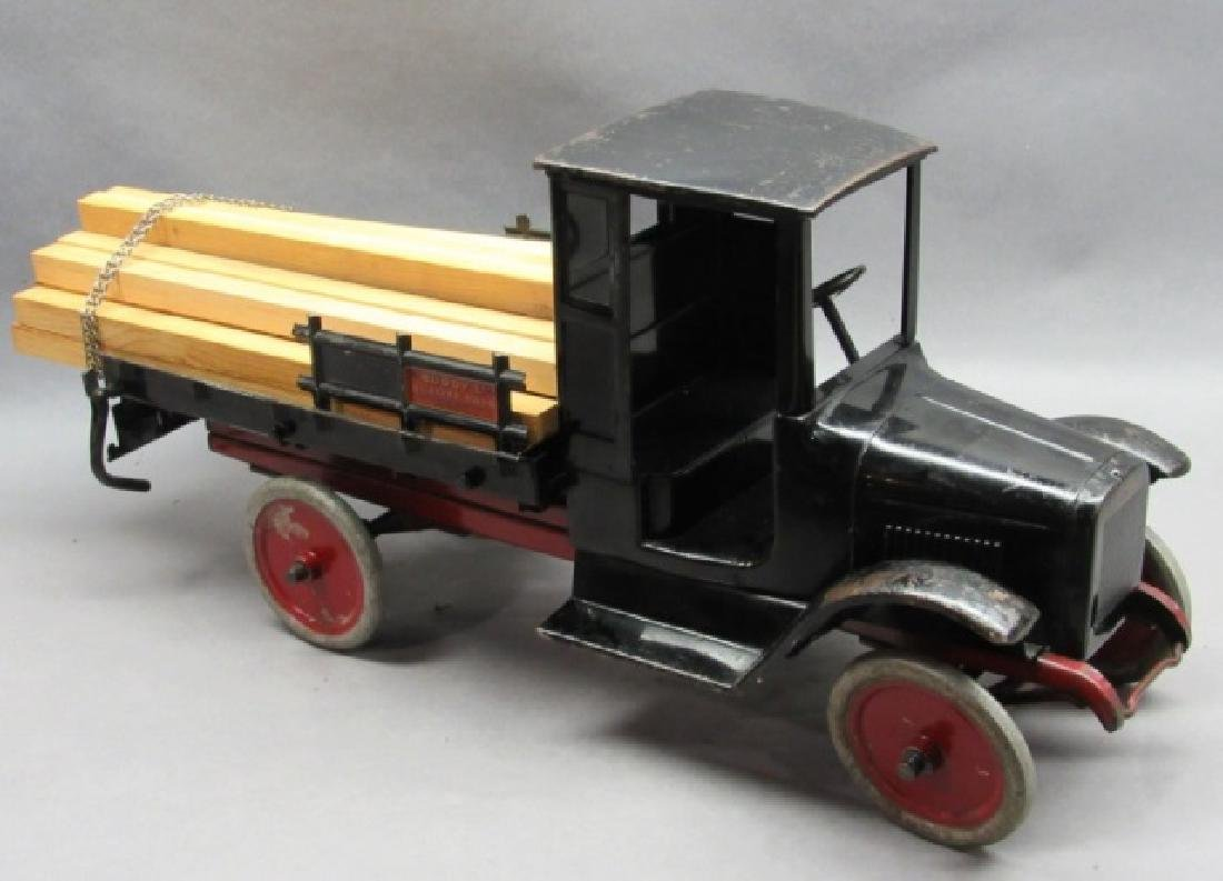 Buddy L Lumber Hauler Truck with Load