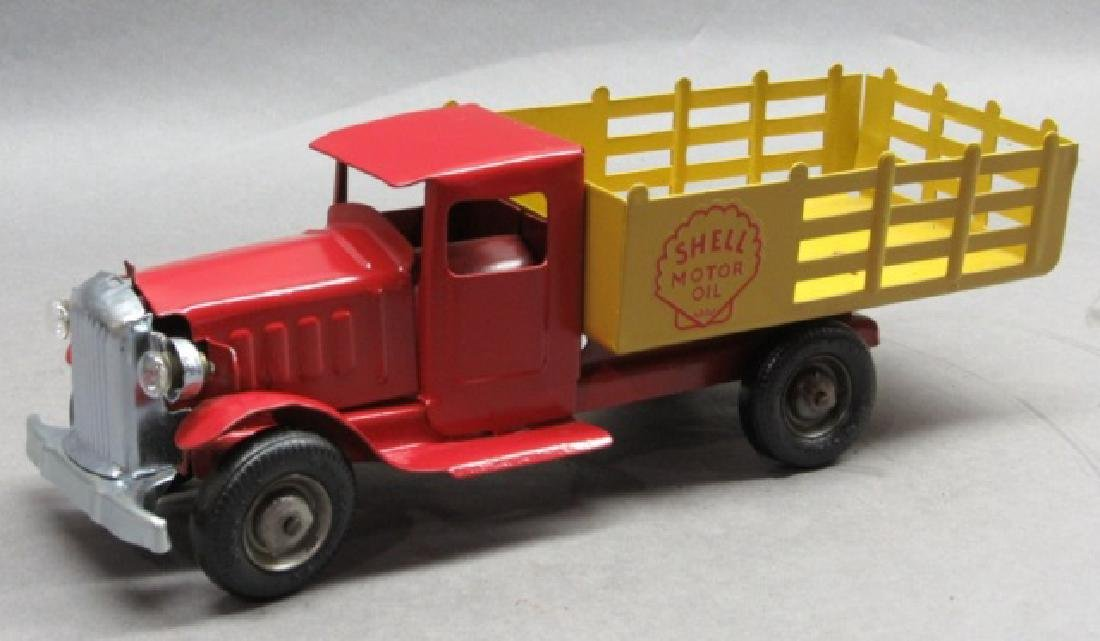 1932 Metalcraft Shell Oil Truck w/ Electric Lights