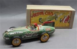 1950s Yonezawa Atom Race Car with box