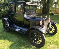 1925 Ford Model T Doctor's Coupe