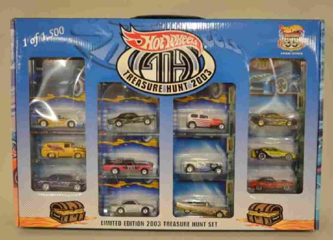 2003 Hot Wheels Collectors Club Treasure Hunt Set