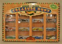2001 Hot Wheels Collectors Club Treasure Hunt Set