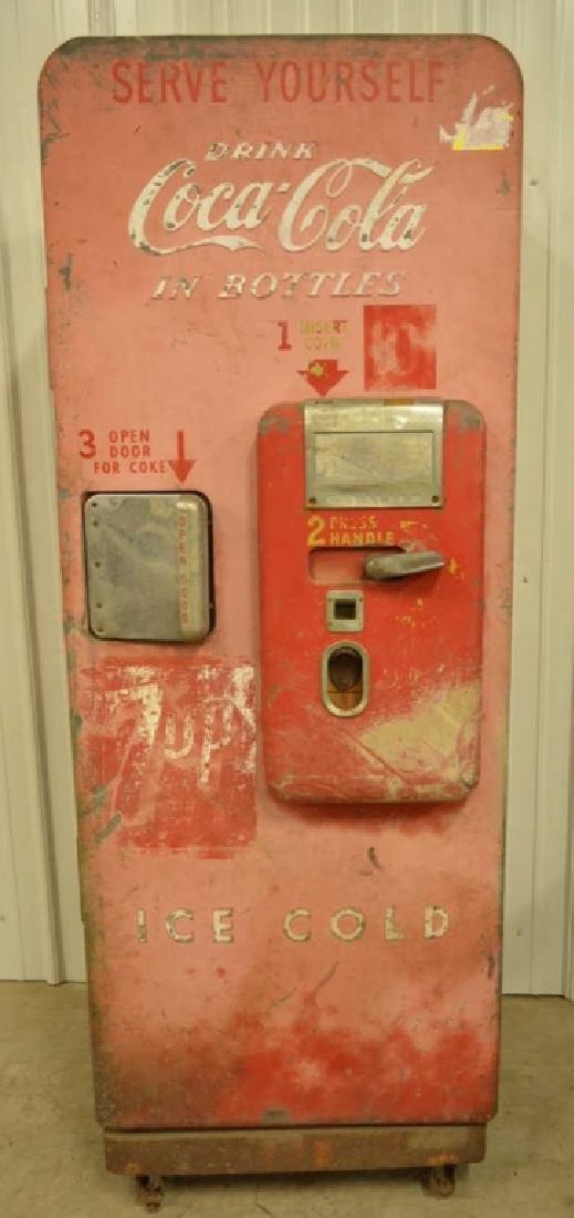 Vtg Coca-Cola C-51 Cavalier Bottle Vending Machine