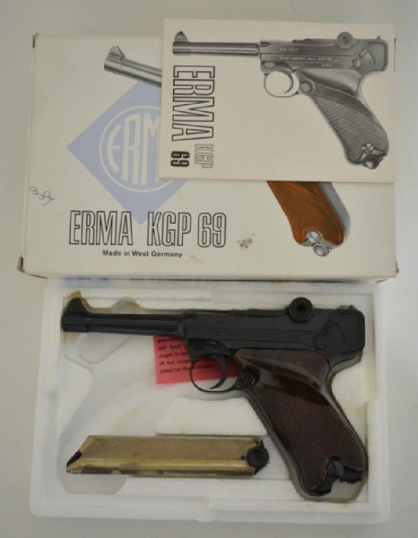Erma KGP 69 22LR Semi-Auto Luger Pistol MIB