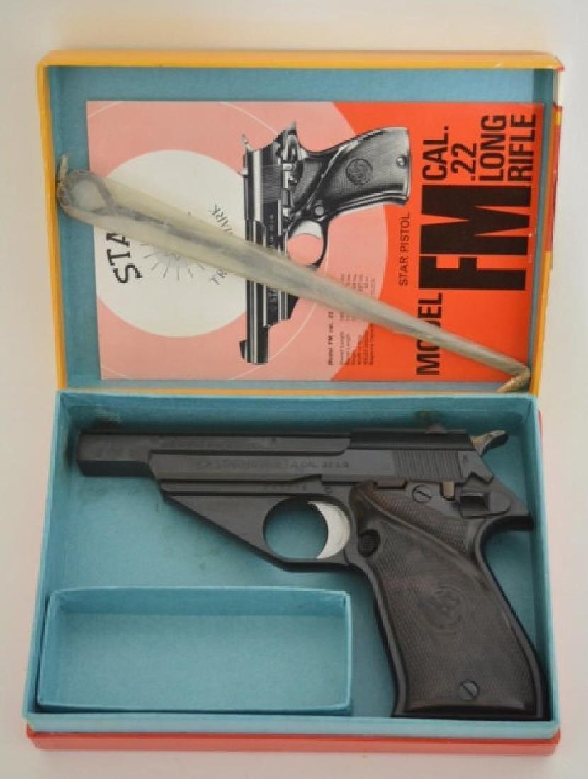 Star Model FM 22LR Semi-Auto Pistol MIB