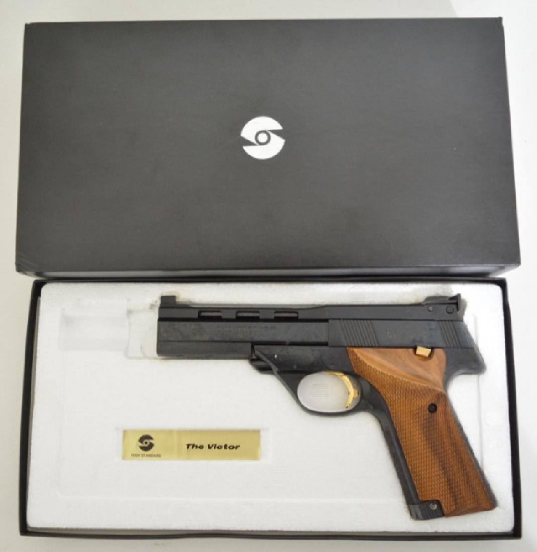 High Standard The Victor 22LR Semi-Auto Pistol MIB