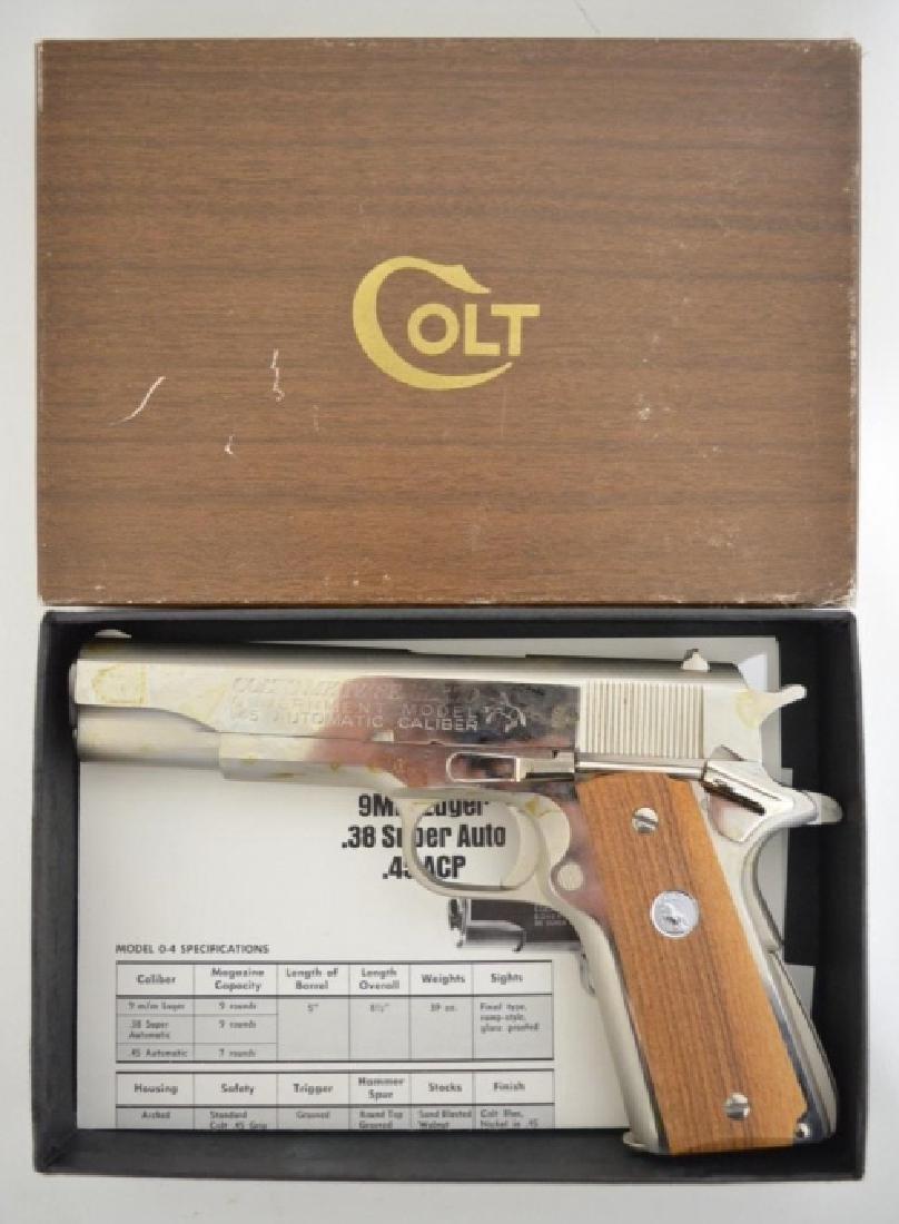 Colt MK IV/Series 70 Government Pistol In Box