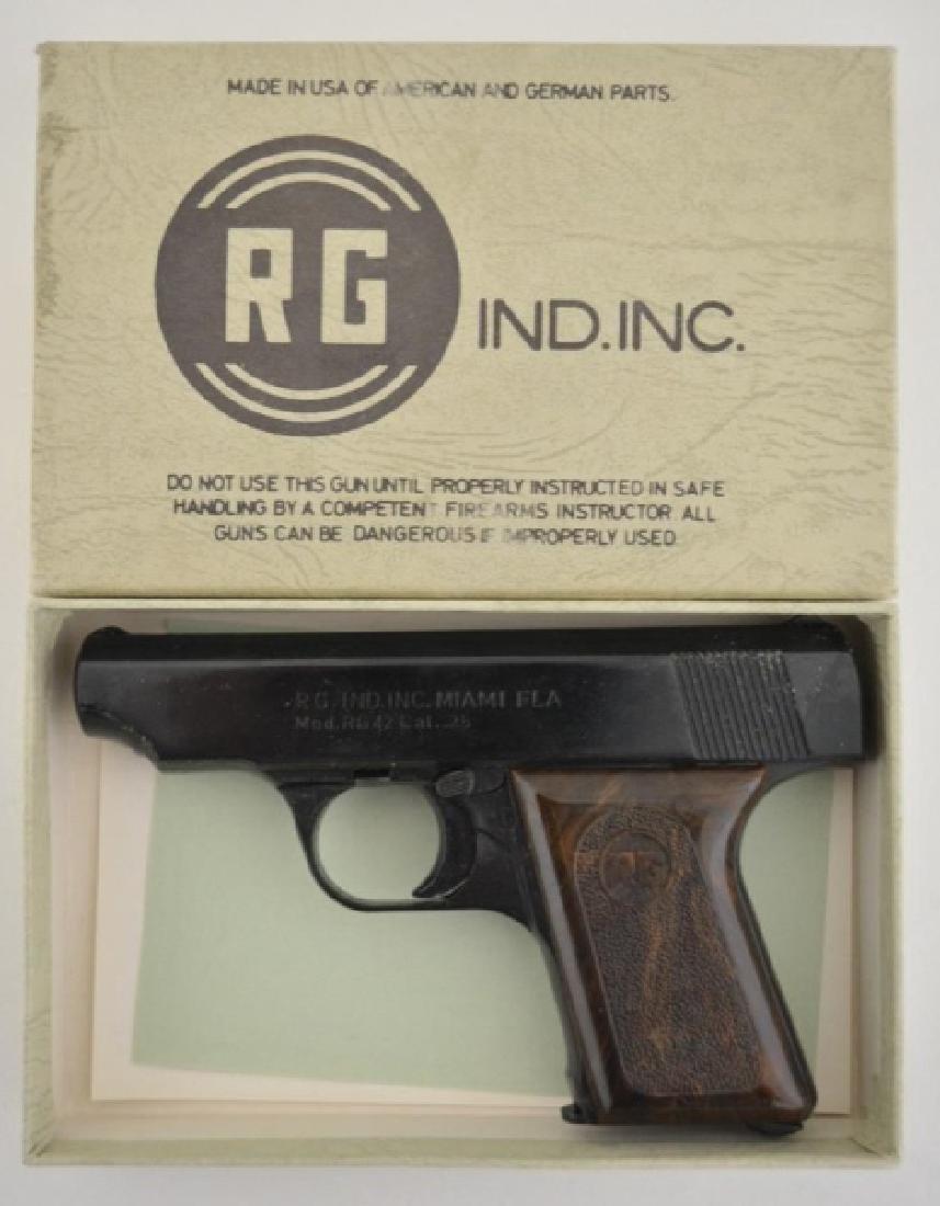 RG Ind. Model RG 25 .25 Cal Semi-Auto Pistol MIB