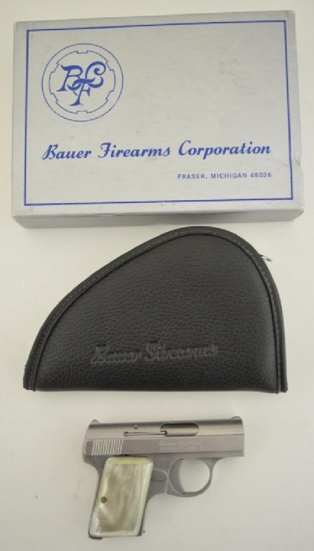 Bauer Arms Corp. Model 25SSP Semi-Auto Pistol MIB