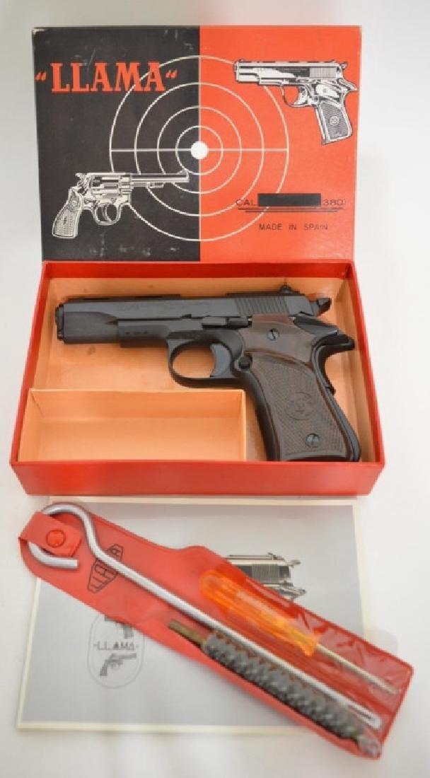 Llama Especial .380 Cal. Semi-Auto Pistol MIB