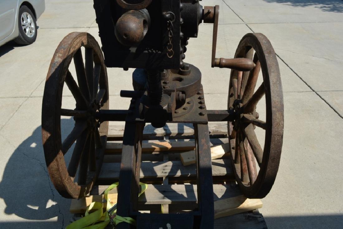 SCARCE NAPALESE BIRA HAND CRANK 577/450 FIELD GUN - 12