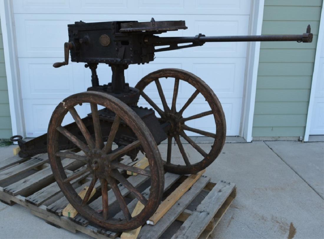 SCARCE NAPALESE BIRA HAND CRANK 577/450 FIELD GUN