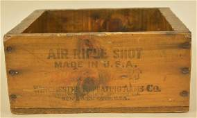 Vintage Winchester Air Rifle Shot Ammo Crate