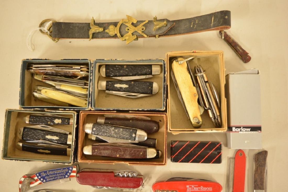 Large Lot Of Vintage Pocket Knives & More - 2