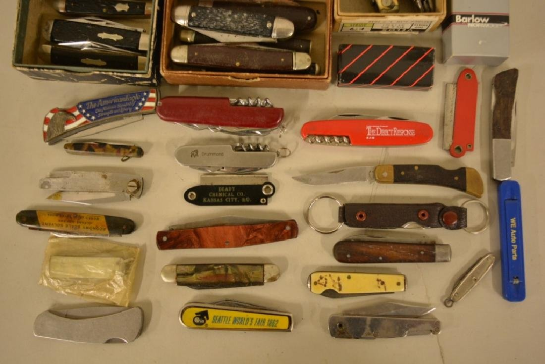 Large Lot Of Vintage Pocket Knives & More - 3