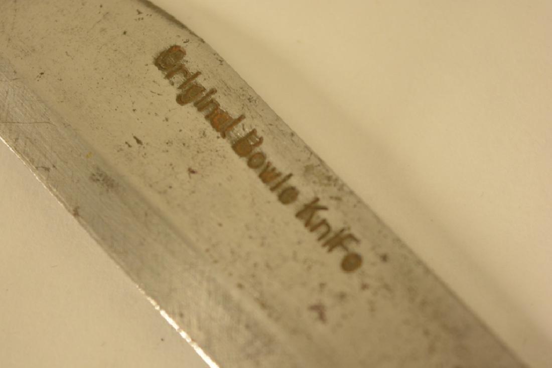 Vintage Original Bowie Knife - 3