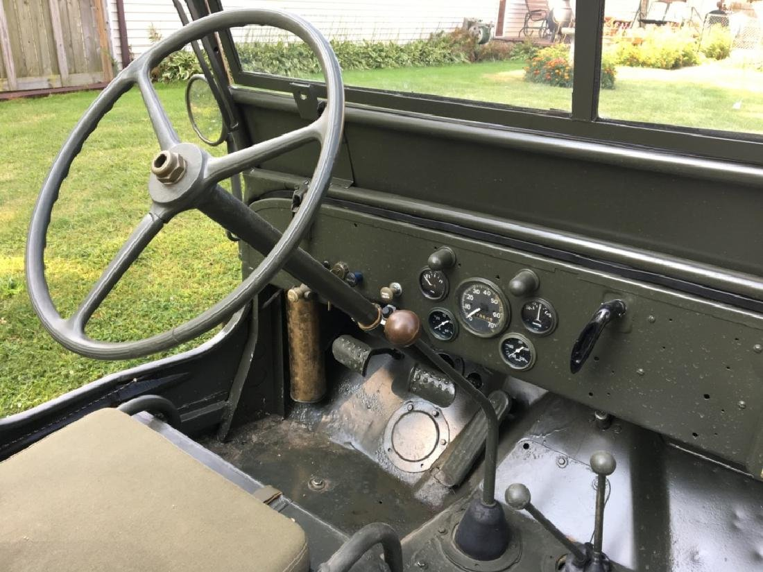 1942 Ford GPW World War II Military Jeep - 12