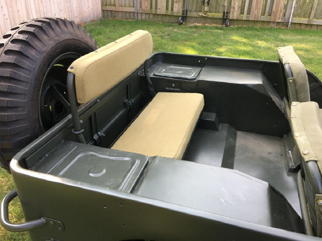 1942 Ford GPW World War II Military Jeep - 14