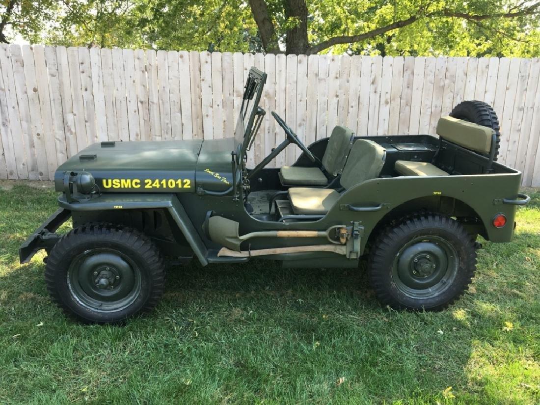 1942 Ford GPW World War II Military Jeep - 17