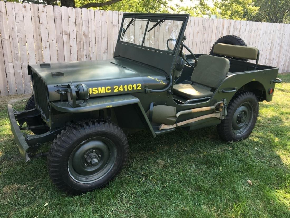 1942 Ford GPW World War II Military Jeep
