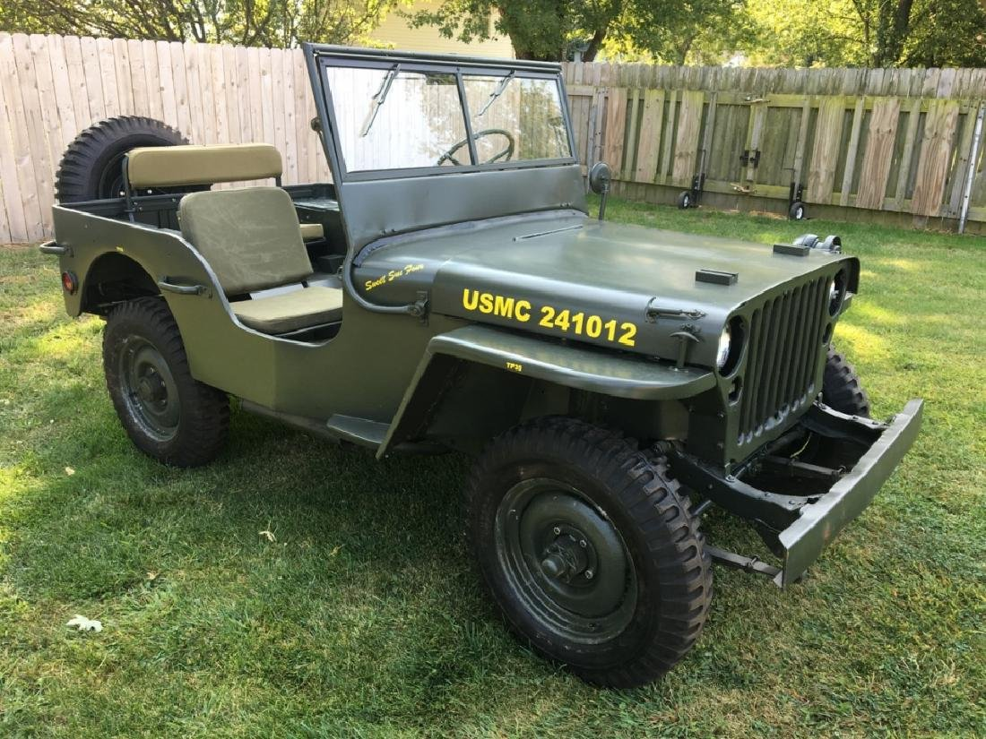 1942 Ford GPW World War II Military Jeep - 2