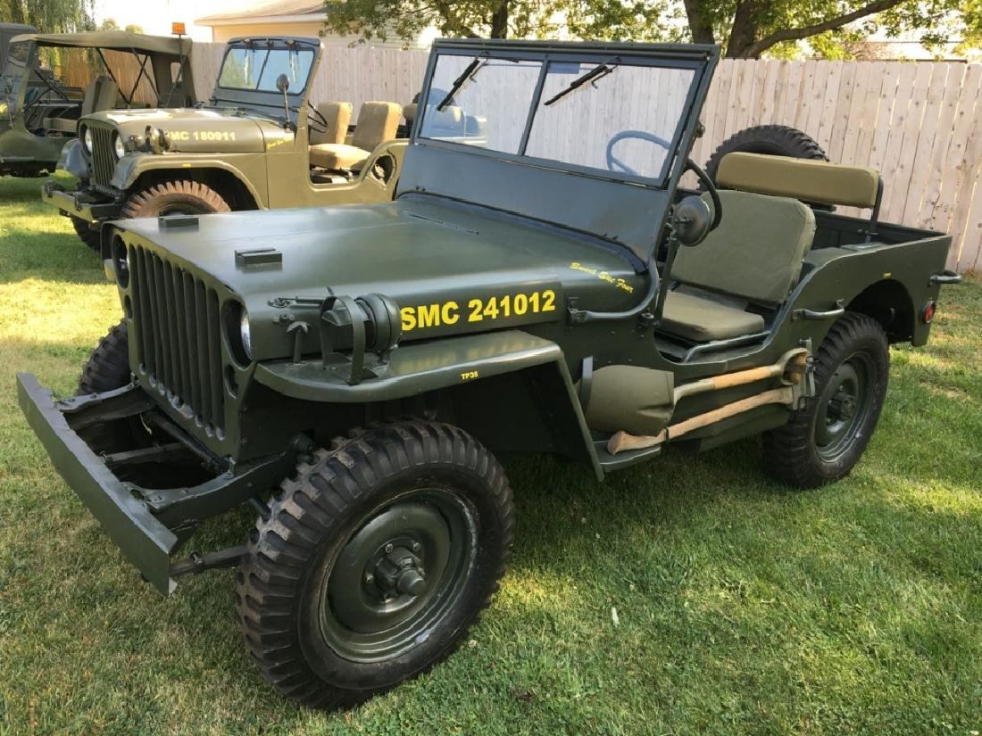 1942 Ford GPW World War II Military Jeep - 3