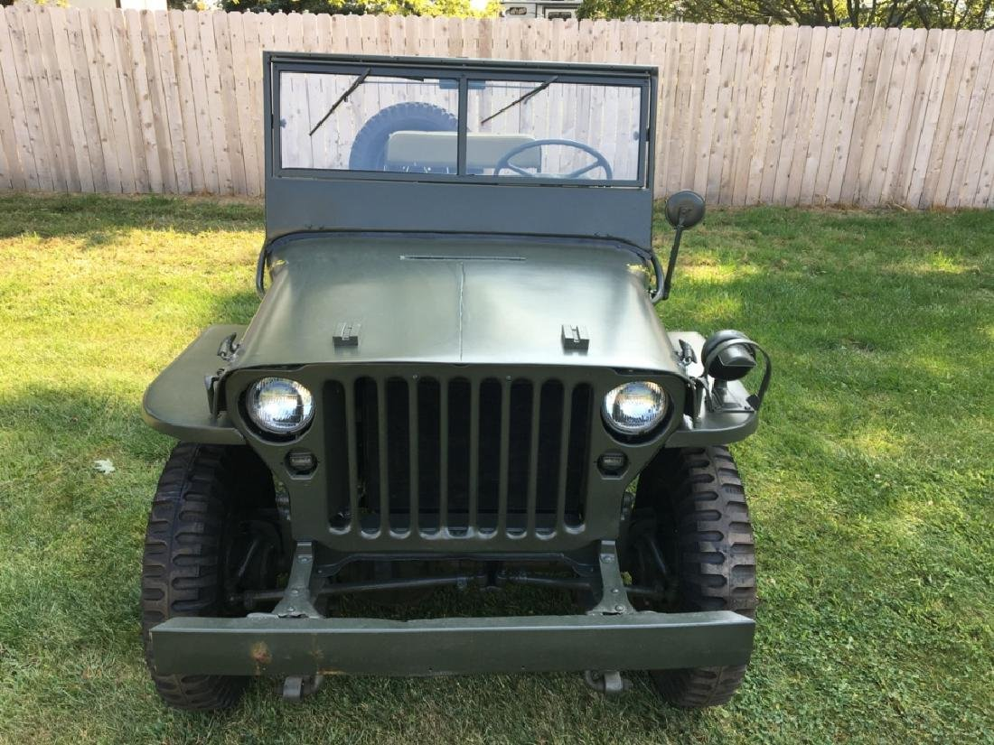 1942 Ford GPW World War II Military Jeep - 4