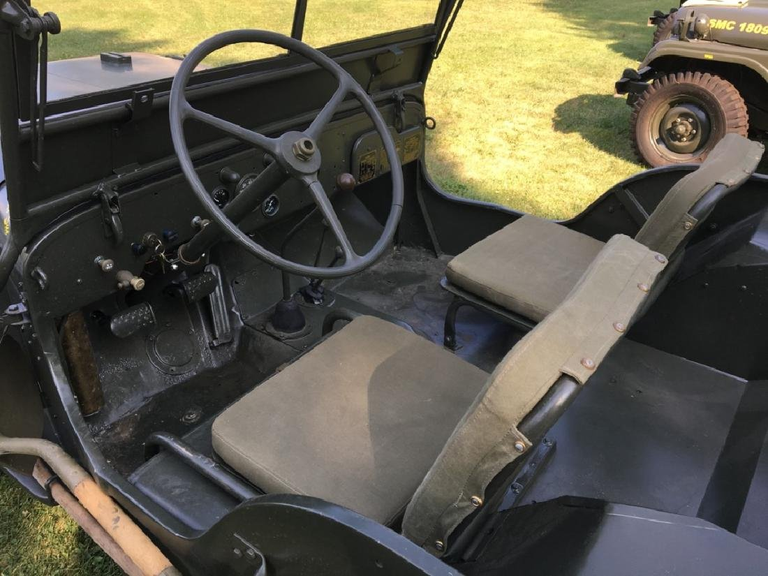 1942 Ford GPW World War II Military Jeep - 6
