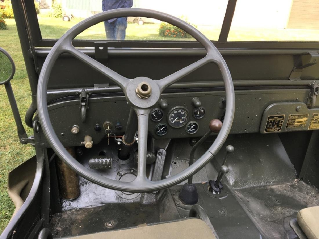 1942 Ford GPW World War II Military Jeep - 7