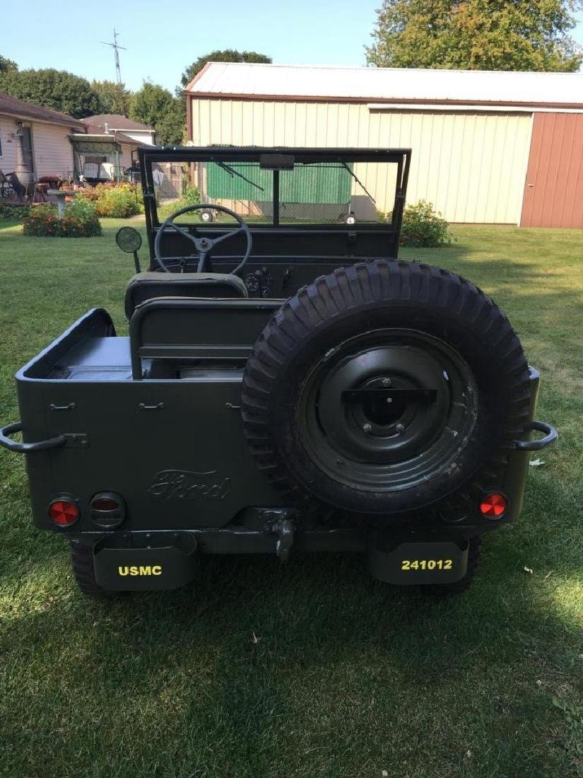 1942 Ford GPW World War II Military Jeep - 8