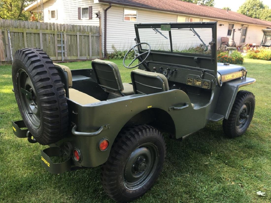 1942 Ford GPW World War II Military Jeep - 9