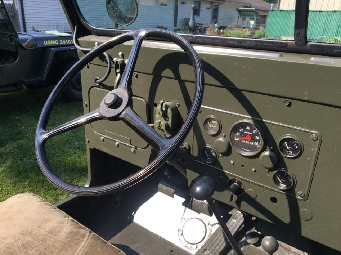 1952 Kaiser Willys M38A1 Military Jeep - 11