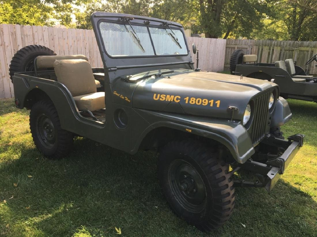 1952 Kaiser Willys M38A1 Military Jeep - 14