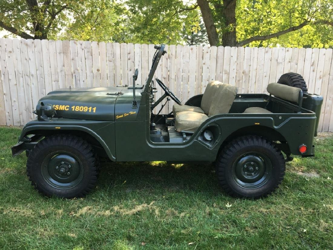 1952 Kaiser Willys M38A1 Military Jeep - 18