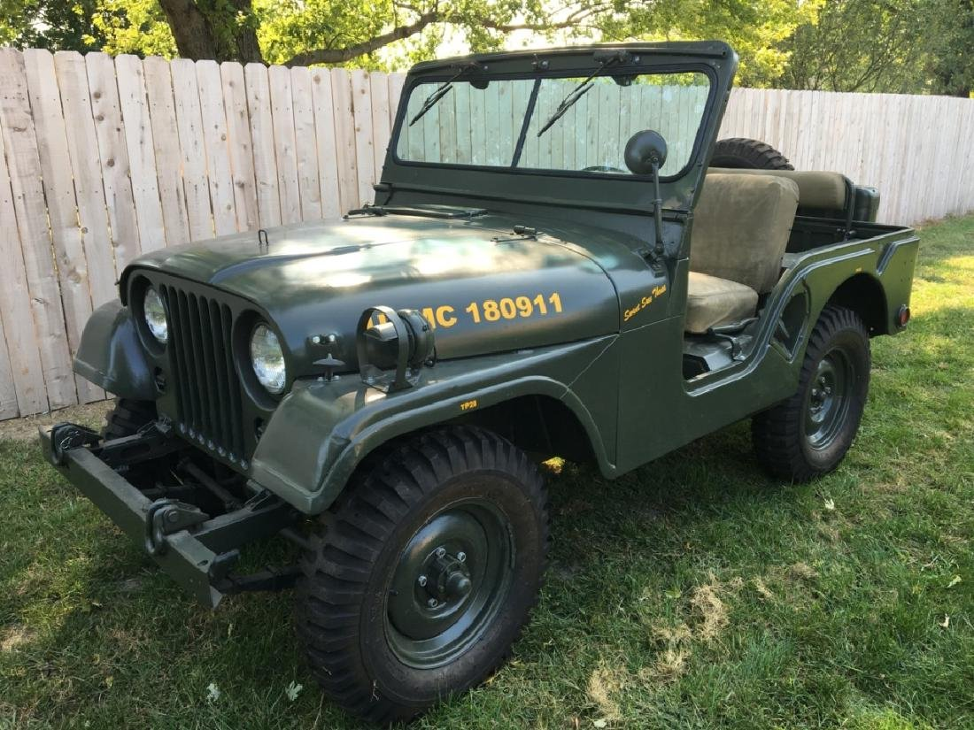1952 Kaiser Willys M38A1 Military Jeep