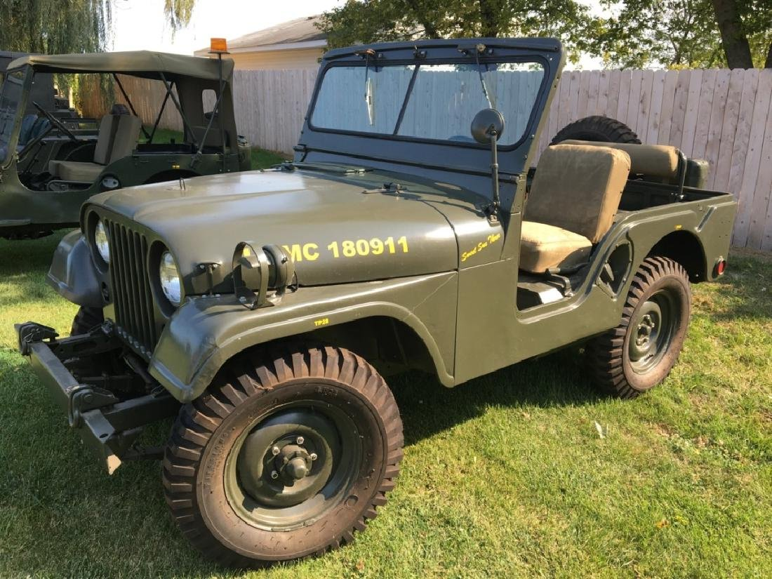 1952 Kaiser Willys M38A1 Military Jeep - 3
