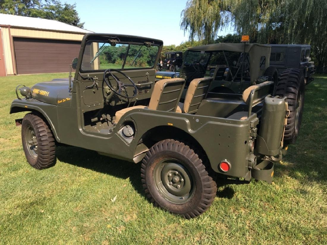 1952 Kaiser Willys M38A1 Military Jeep - 4