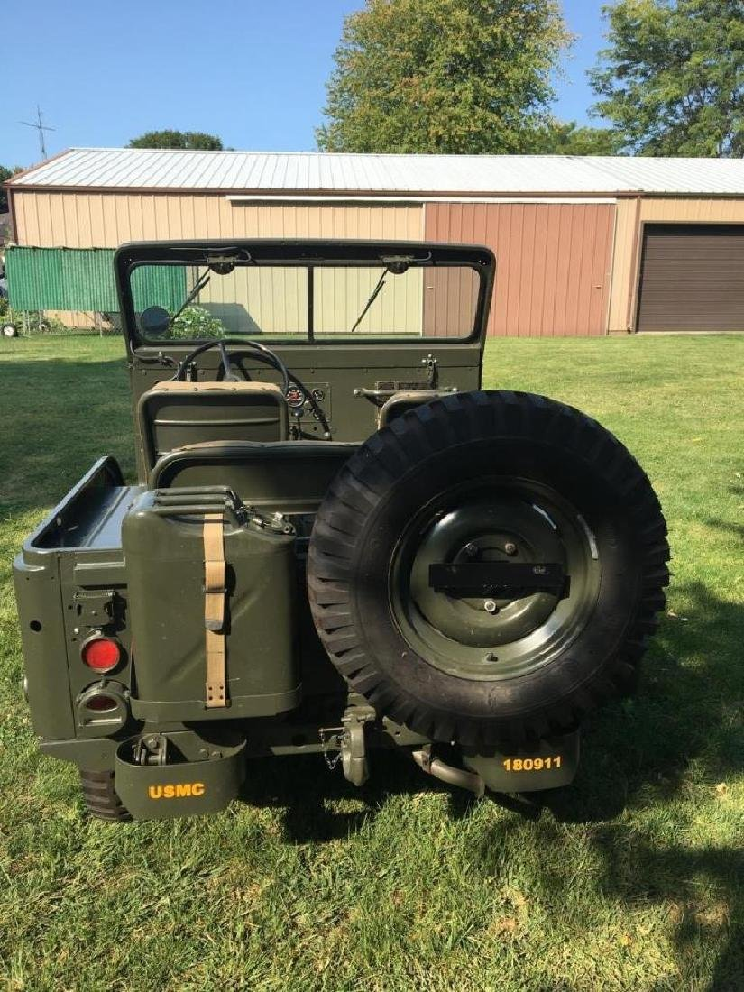 1952 Kaiser Willys M38A1 Military Jeep - 5