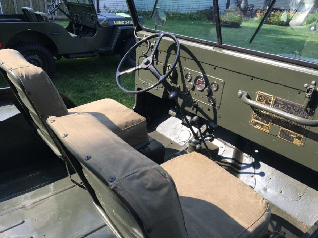 1952 Kaiser Willys M38A1 Military Jeep - 8