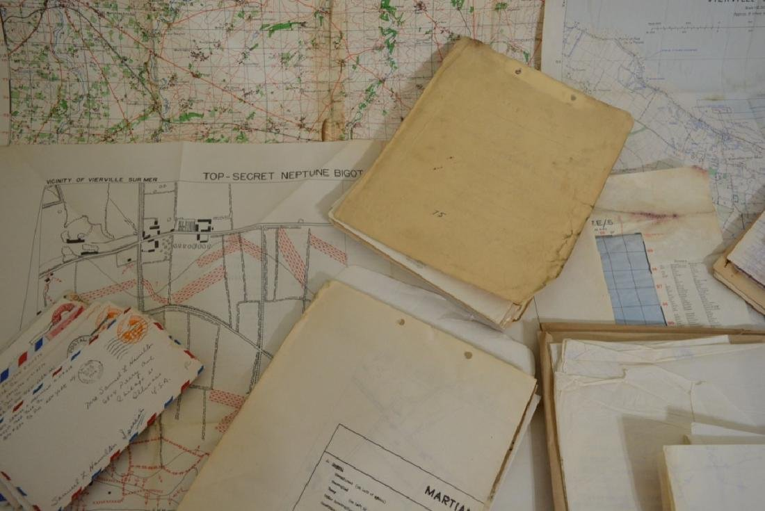 WWII D-Day Allied Invasion Documents and Maps