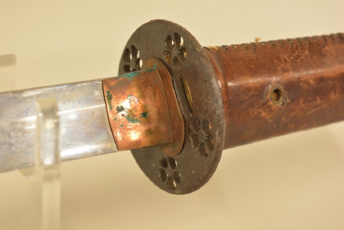 WWII Japanese Katana Samurai Sword - 4