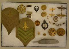 Lot Of  WWII Era US Military Items