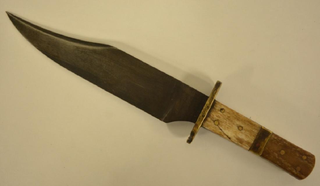Civil War Era Confederate Bowie Knife 1861