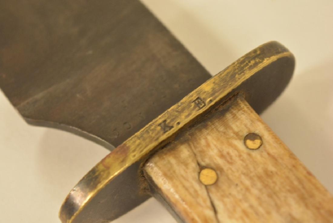 Civil War Era Confederate Bowie Knife 1861 - 4